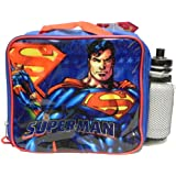 Superman Returns Lunchbox Lunch Bag Sports Water Bottle
