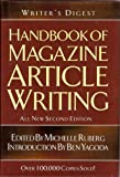 Writer's Digest Handbook of Magazine Article Writing, Ruberg, Michelle, 1582973334