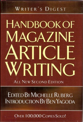 Pdf Reference Writer's Digest Handbook Of Magazine Article Writing
