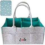 Baby Diaper Caddy Organizer with Changing Pad – Nursery...