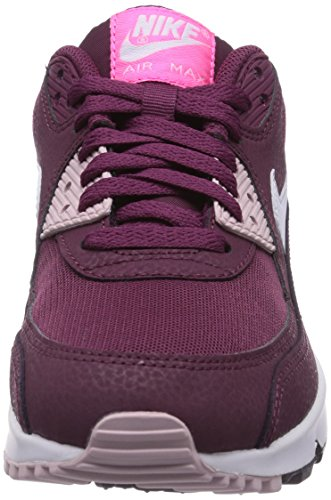 cae937f73e0d3 Nike Air Max 90 Essential, Women's Low-Top Sneakers, Red (Villain Red/White/Champagne/Pink  Pw 600), 6.5 UK (40.5 EU): Amazon.co.uk: Shoes & Bags