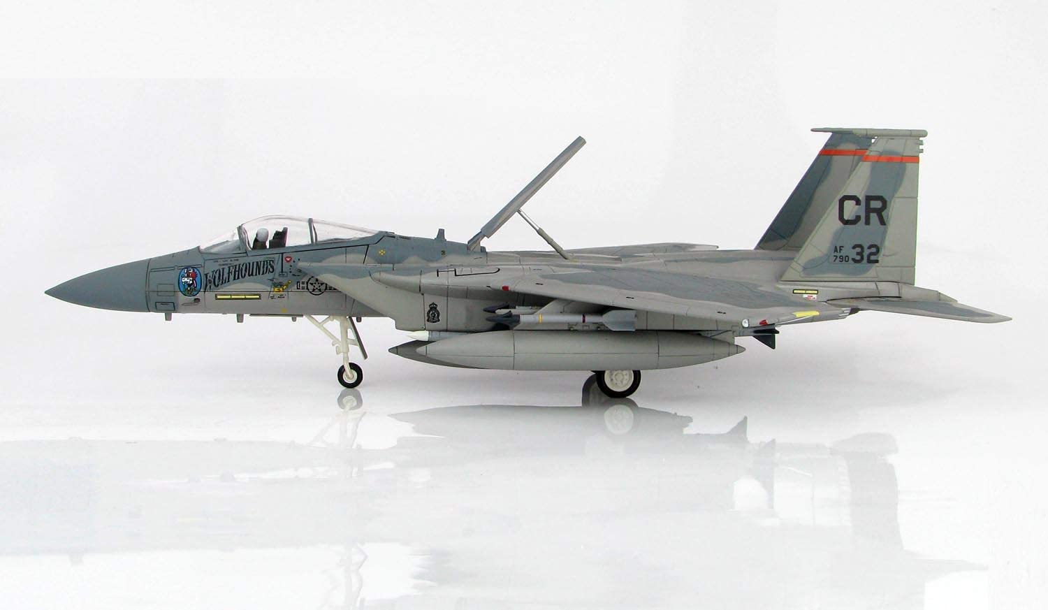 JC Wings Mcdonnell Douglas F-15C Eagle 79-0032 Col Lee Alton CO of 32nd TFS Soesterberg Air Base Netherlands Late 1980s 1/72 diecast Plane Model Aircraft
