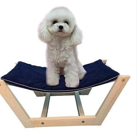 Suministros para Mascotas Cama para Mascotas -Pet Nest Camara de Madera Maciza Cama para Mascotas