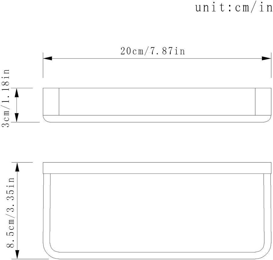 Flybath Anneau Porte-serviette SUS 305 Acier Inoxydable Salle de Bain Montage /à vis Porte-serviette en Cintre /à serviette mural Noir Mat