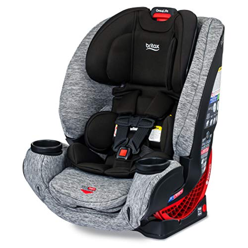51Nwt2YgkwL - Britax One4Life ClickTight All-In-One Car Seat – 10 Years Of Use – Infant, Convertible, Booster – 5 To 120 Pounds, Spark Premium Soft Knit Fabric [Amazon Exclusive]