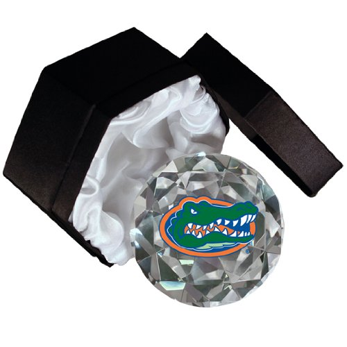 NCAA Florida University Gators Mascot 4-Inch High Brillance Diamond Cut Crystal - Mascot Quality Crystal High