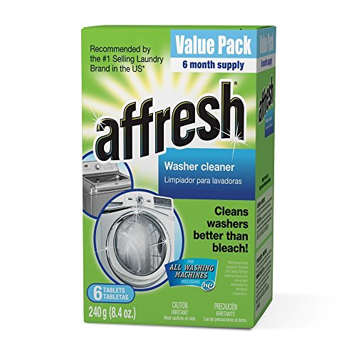 Affresh Washer Machine Cleaner, 6-Tablets, 8.4 oz - Pack of 3
