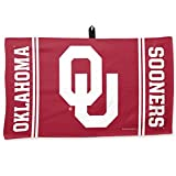 WinCraft NCAA University of Oklahoma Waffle Towel, 14 x 24, Black