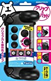 GAMETECH PSVITA2000 Trigger Grips /Analog Stick Covers set -Black-