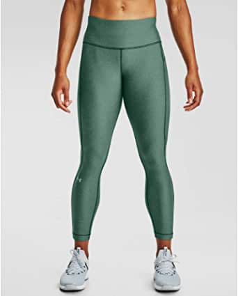Under Armour Women's HeatGear Armour High Waisted Ankle Crop Leggings