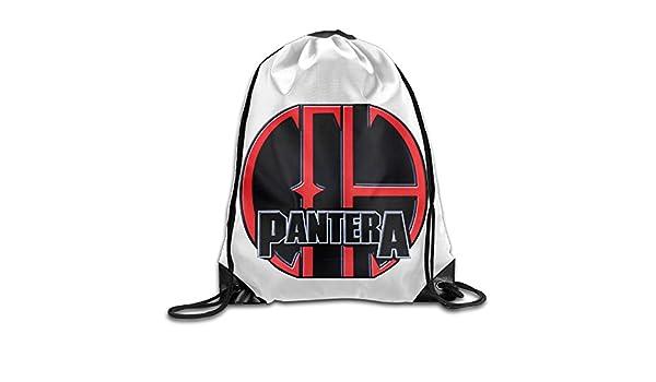 5b18cc8be07d Amazon.com: Pantera Heavy Metal Rock Band Sack Bag Drawstring ...