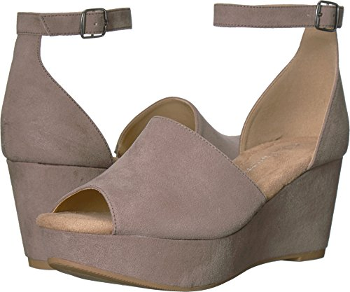 CL by Chinese Laundry CL by Laundry Women's Dara Pebble Taupe Super Suede 7 M US