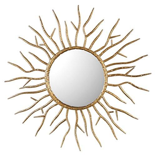 Uttermost 09187 Uttermost Astor Gold Starburst Mirror (Transitional Leaf Forged)