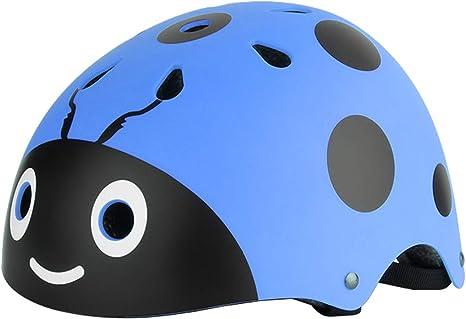 Hoomax Cute Ladybug Casco de Seguridad Patineta Patinaje ...