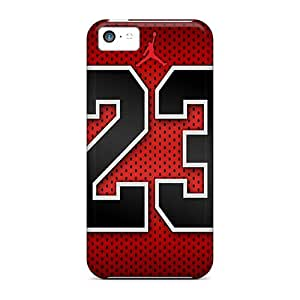 Awesome Lxk8993Qwyj RogerKing Defender Tpu Hard Case Cover For Iphone 5c- Michael Jordan 23