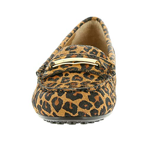 Womens Leopard Vionic Honor Shoes Tan Ashby Leather 8r7dqw7S