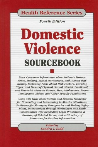 Domestic Violence Sourcebook (Health Reference Series) (4th Edition) (2012-12-15) [Hardcover] pdf epub