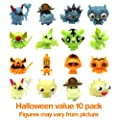 Moshi Monsters Series 1 Halloween Glow In The Dark Moshling Collectable Figures