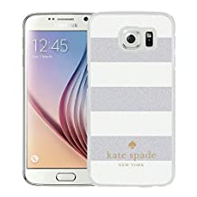 Kate Spade Cover Case For Samsung Galaxy S6 White Phone Case 11