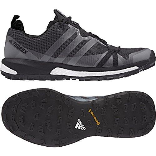 db13d1f618fcd adidas outdoor Womens Terrex Agravic Shoe (9 B(M) US, Utility Black, Black,  Trace Grey)