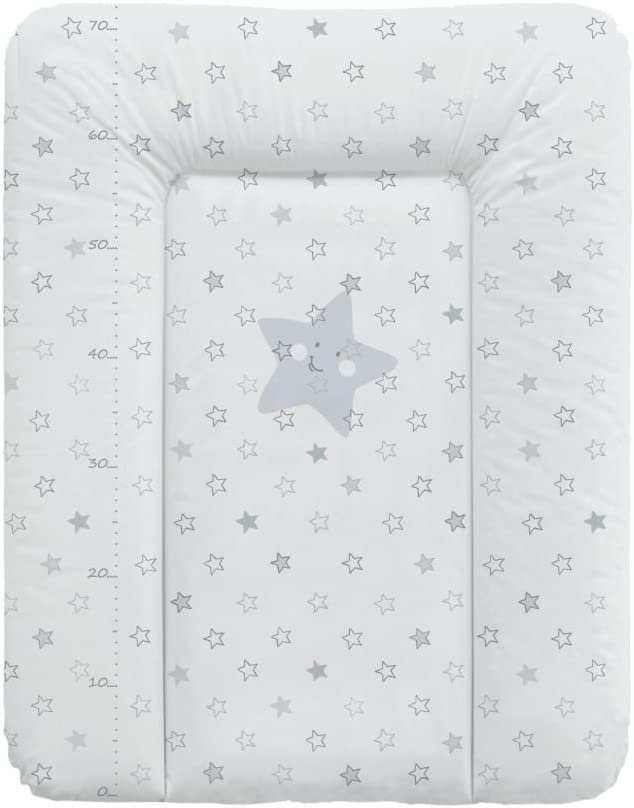 Babycalin /con un metro impreso gris Talla:50 x 70 cm 50/x 70/cm/ Colch/ón cambiador Confort Etoile de color beige