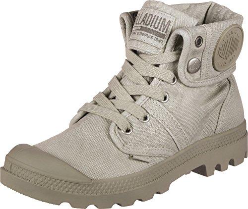 Sneaker Palladium Damen Pallabrousse Baggy Hohe, Grau Stringa Giorno Piovoso