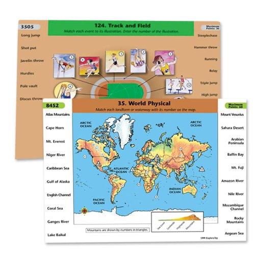 Geosafari Card Set - GeoSafari Laptop Card Set - Ages 8 & Up