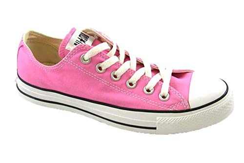 Genuine Plimsolls Classic Converse Ox Lo Top Unisex Lace Up Trainers 6 UK Pink B00JMEGN9M