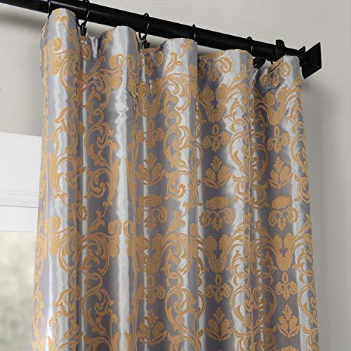 Buy damask silk drapes