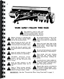 International Harvester 510 Grain Drill Operators Manual