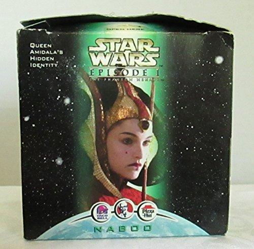COLLECTIBLE STAR WARS EPISODE 1 COLLECTIBLE ACTION FIGURE TOY - QUEEN AMIDALA'S IDENTITY