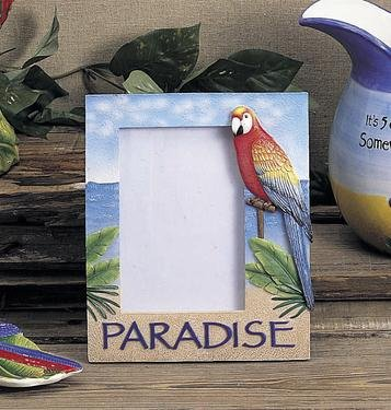 Parrot Photo Frame (Paradise Parrot 4x6 Photo Frame)