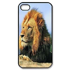 C-Y-F-CASE DIY Design Lion Pattern Phone Case For Iphone 4/4s