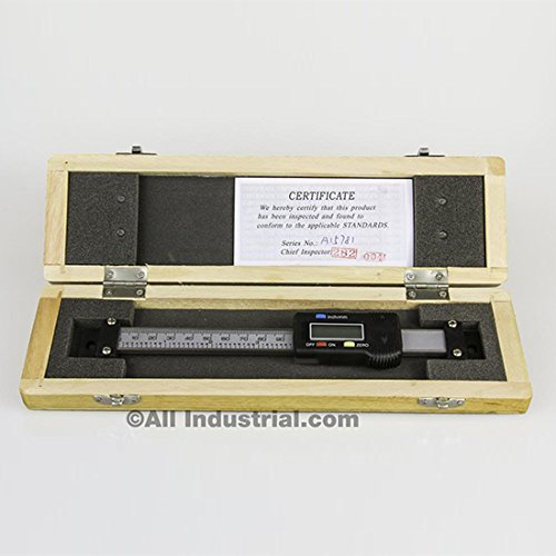 4'' X-AXIS DIGITAL READOUT SCALE HORIZONTAL BRIDGEPORT MILL LATHE DRO OUTPUT by All Industrial
