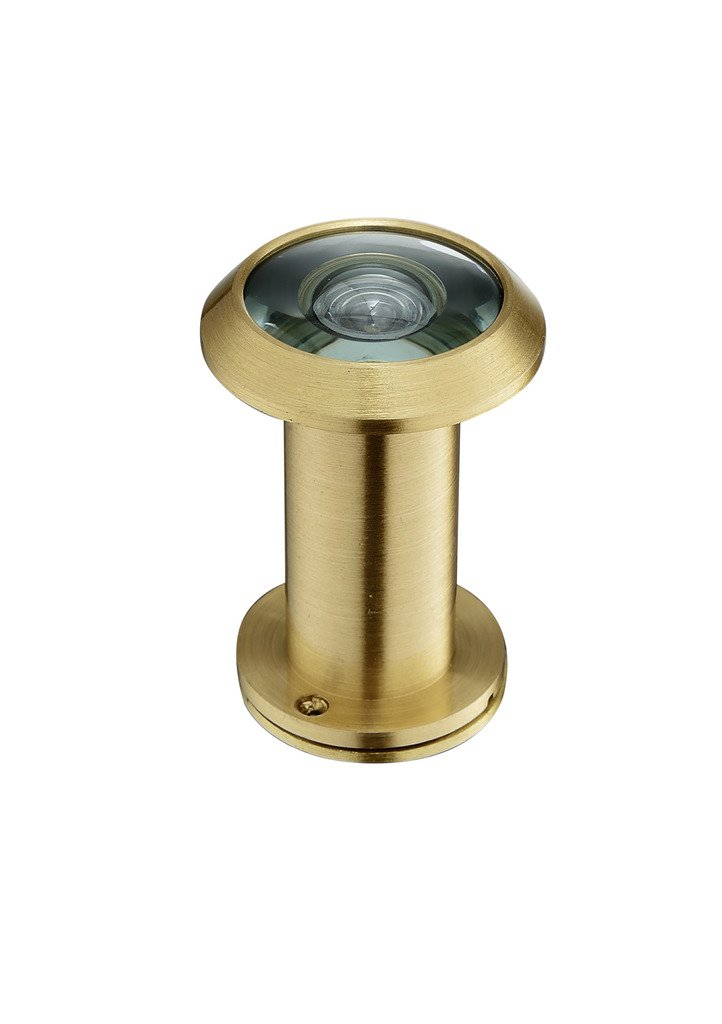 Togu 3016YG-PVD Gold Brass UL Listed 220-degree Door Viewer with Heavy Duty Privacy Cover for 1-3//8 to 2-1//6 Doors PVD Gold Finish