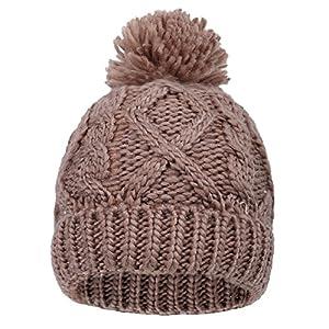 Arctic Paw Boys/Girls Kids Knit Beanie w/Pompom Toddlers Children Winter Hat Cap