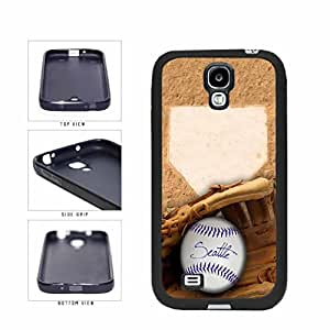 Seattle Glove and Baseball TPU RUBBER SILICONE Phone Case Back Cover Samsung Galaxy S4 I9500