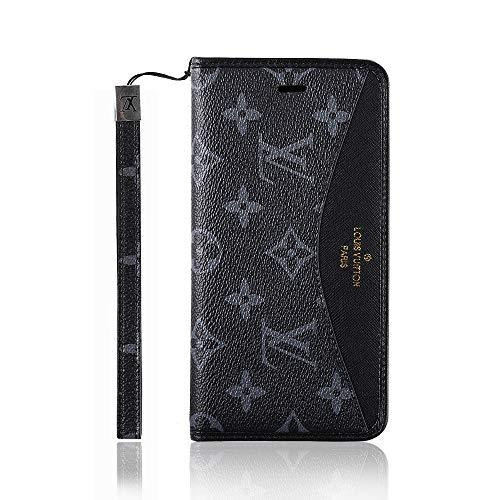 iphone7/8 iPhone 7/8 plus iPhoneX iPhoneXR iPhoneXsMAX ケース 手帳型 高級レザー/TPU マグネット式 スタンド機能 カード収納 財布型 耐衝撃 耐摩擦 人気 iPhone case アイフォン ケース (iphone XR, black)