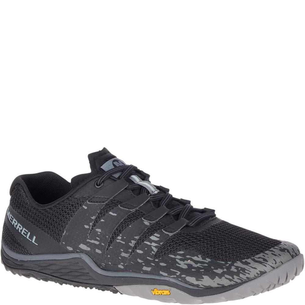 Merrell Men's Trail Glove 5 Sneaker, Black, 07.5 M US