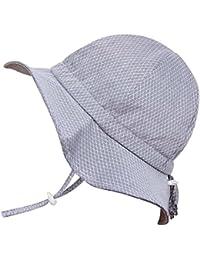 Toddler Boys Girls Cotton Sun Hats 50 UPF, Drawstring...