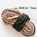 Bangood Necessary Rifle Cleaning Cleaner Rope Kit Caliber Bore Snake For Hunting G08:270 Cal 280 284 & 7mm