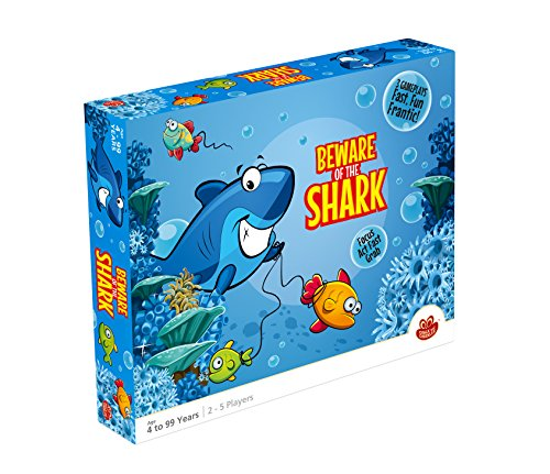 Beware Of The Shark Game - Cc-029 - Toys Activity Toys Family And Fun Games CC-029