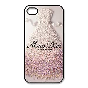 iphone4 4s case (TPU), miss dior blooming bouquet Cell phone case Black for iphone4 4s - FGHJ8978593