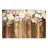 "25 Count Rustic Country Paper Place Mats Pretty Floral Blooms Engagement Graduation Parties Bridal Shower Wedding Reception Easy Cleanup Disposable Table Settings 17"" x 11"" DB Party Studio Placemats"