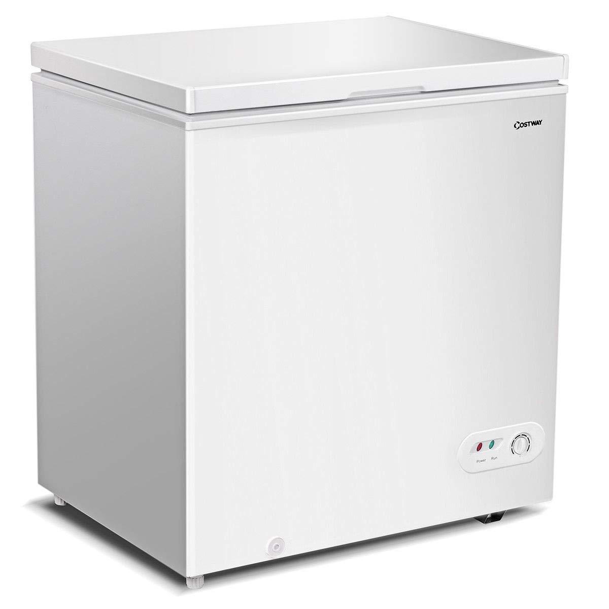 5.2 CU. FT Single Door Household Compact Chest Freezer New Perfect Beautiful Classic Elegant Useful CHOOSEandBUY