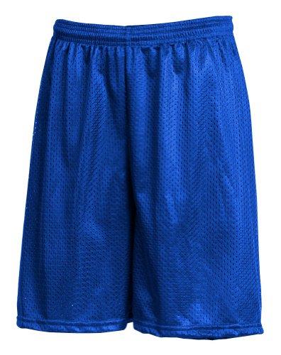 LA Speedy Men's Mesh Athletic Gym Shorts No Pocket L Royal Blue (34-35