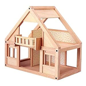 Amazon com  Plan Toy My First Dollhouse  Toys  amp  GamesPlan Toy My First Dollhouse