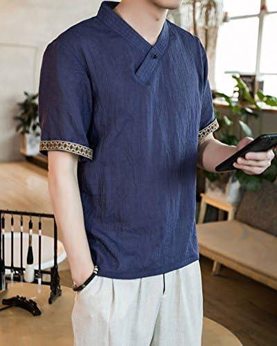 Hombre Tamaño Grande Transpirable Camisas De Manga Corta Camisa De ...