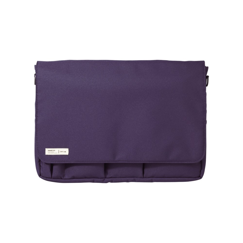 Lihit Lab Carrying Pouch, Navy, 9.4 x 13.4 Inches (A7577-11)