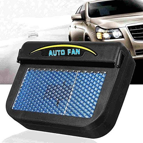 TUZECH Solar Automatic Car Cooler For Summers - (Works in Closed Window Also)